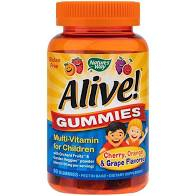 ALIVE GUMMIES MUTLI-VITAMIN FOR CHILDREN 90jeleuri SECOM 0