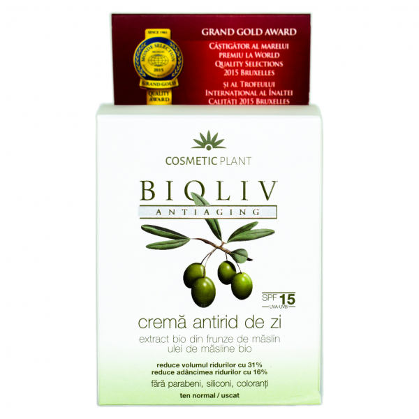 CREMA ANTIRID DE ZI 50ml BIOLIV ANTIAGING COSMETIC PLANT 0