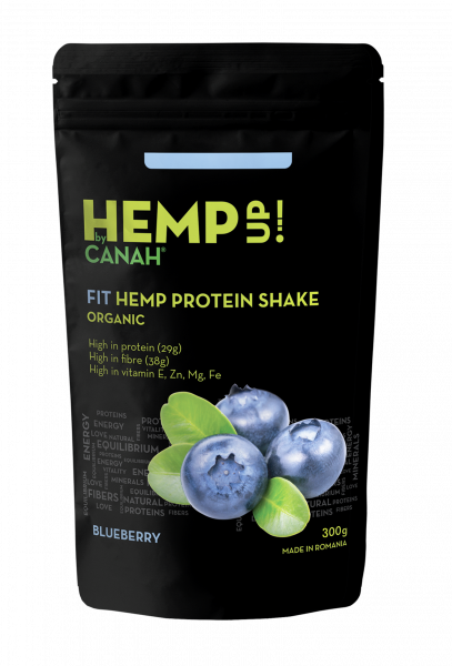 FIT SHAKE PROTEIC DE CANEPA SI AFINE ECO 300g CANAH 0
