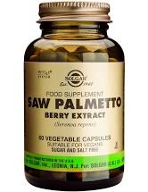 SAW PALMETTO BERRY EXTRACT veg.caps 60cps SOLGAR 0