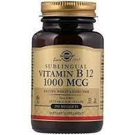 VITAMIN B-12 1000mg nuggets 100cps SOLGAR 0