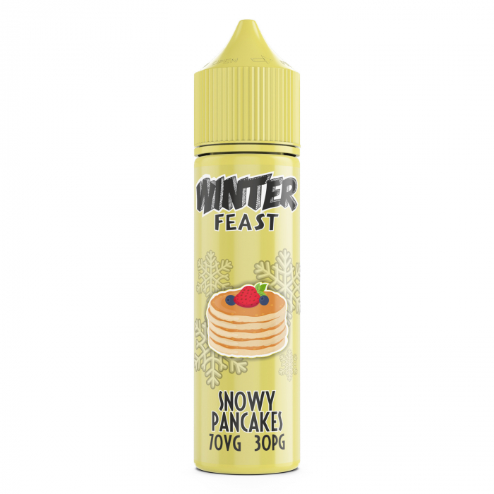 Winter Feast Snowy Pancakes eJuice 60ml 0