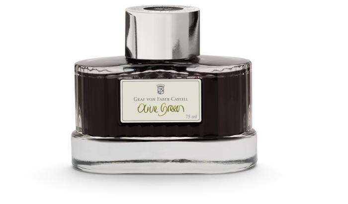 Calimara Cerneala Olive Green 75 ml Graf von Faber-Castell - Graf von Faber-Castell 1