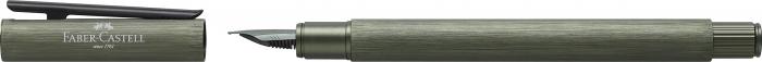 Stilou Neo Slim Aluminium Verde Faber-Castell 2