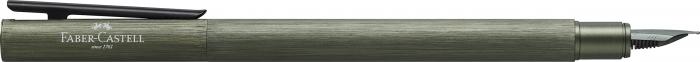 Stilou Neo Slim Aluminium Verde Faber-Castell 1