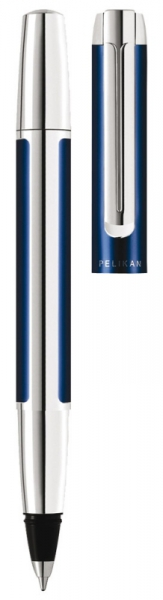 Roller Pura R40 Bllue-Silver Pelikan 1
