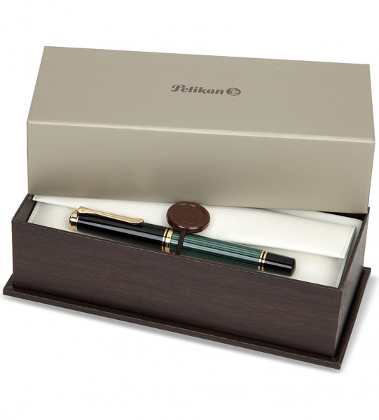 Stilou Souveran M800 Black-Green Pelikan 2