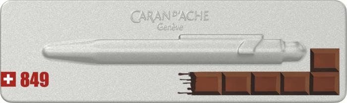 Pix Caran d'Ache 849 Swiss Chocolate [1]