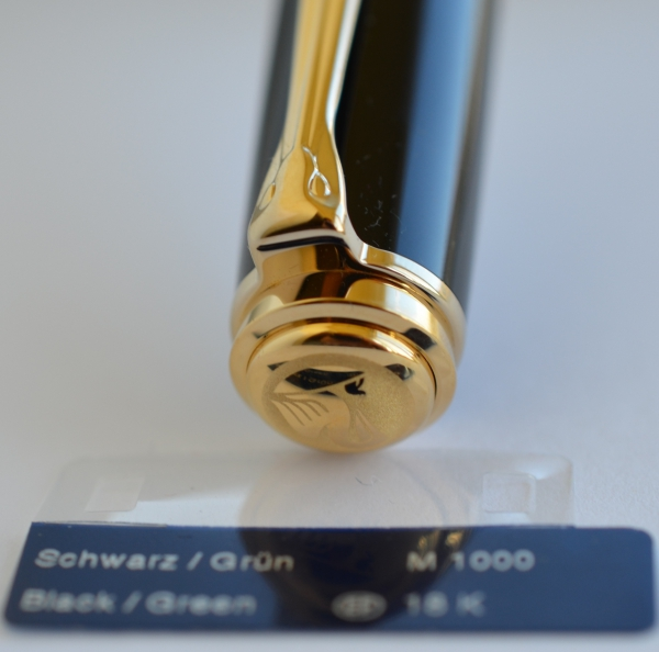 Stilou Souveran M1000 Negru-Verde Pelikan [6]