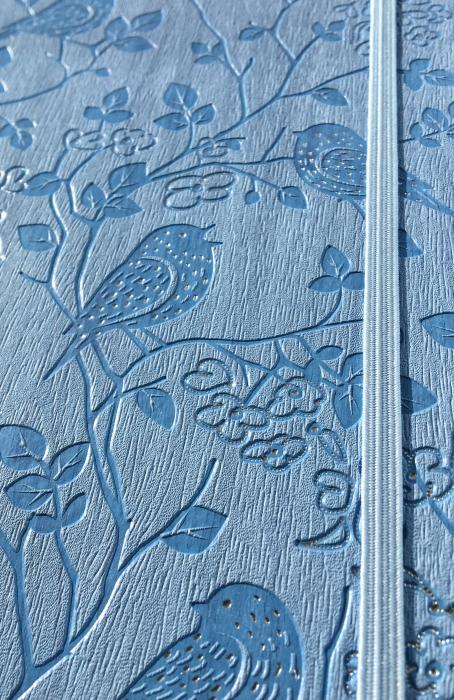 Bloc Notes Ivory Nature Bleu 13x21 cm  Herlitz 3