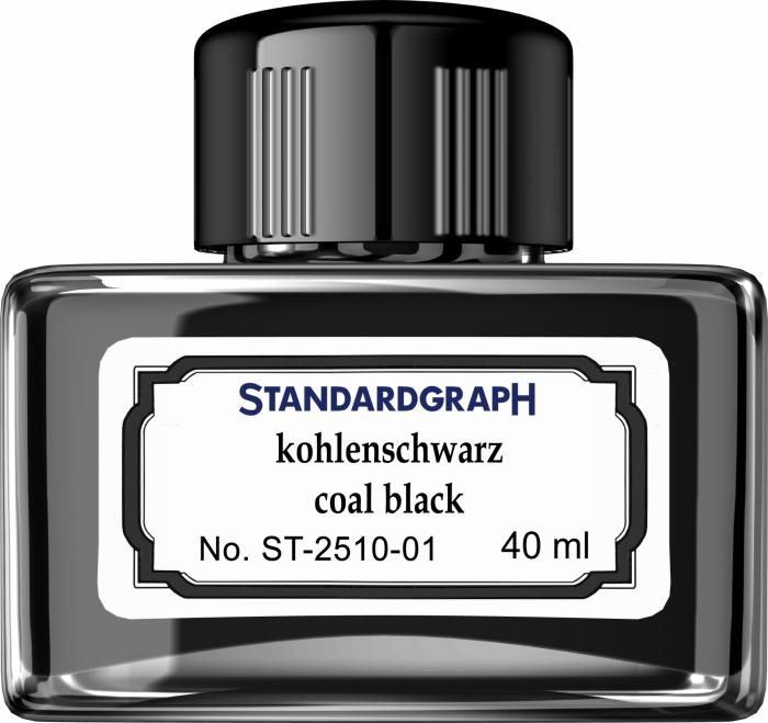 Calimara Antique Coal Black Permanent Mileo 40 ml Standardgraph [1]
