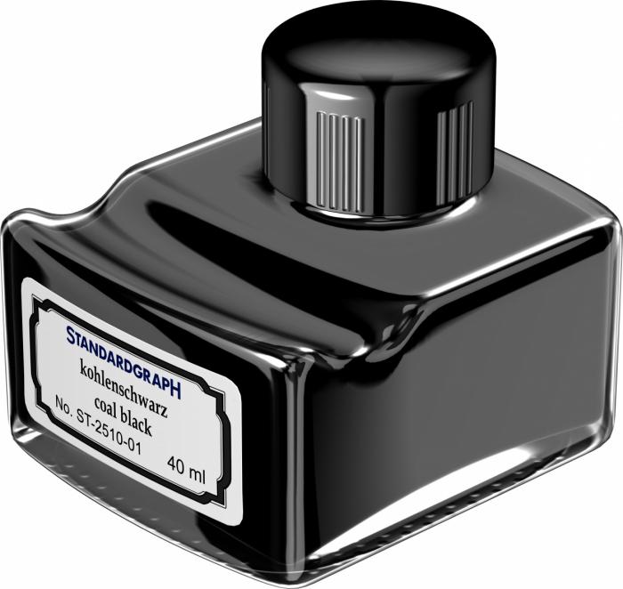 Calimara Antique Coal Black Permanent Mileo 40 ml Standardgraph [0]