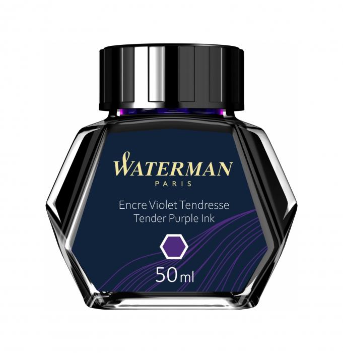 Calimara Cerneala Waterman Tender Purple 50 ml permanent [0]