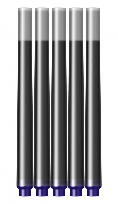 Cartuse Cerneala Parker Quink Blue Black set 5 buc [2]