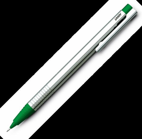 Creion Mecanic 0.5 LAMY Logo Stainless Steel / Green 0