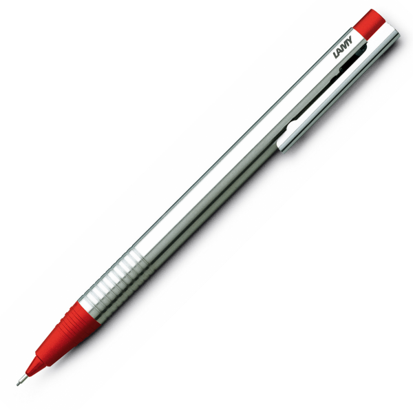 Creion Mecanic 0.5 LAMY Logo Stainless Steel / Red [0]