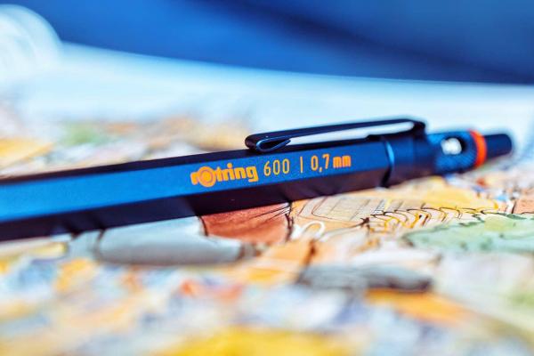 Creion Mecanic 0.7 Seria 600 Iron Blue Rotring [4]