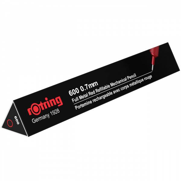 Creion Mecanic 0.7 Seria 600 Red Rotring 1