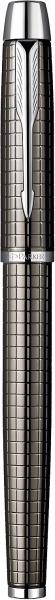 Stilou Parker IM Premium Deep Gun Metal Chiselled CT 1