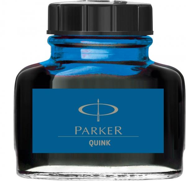 Calimara Cerneala Parker Albastru 57.50 ml Lavabil Quink [0]