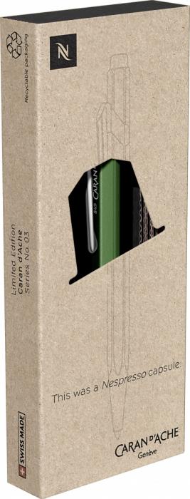 Pix 849 Le Nespresso Green CT Caran d'Ache [5]