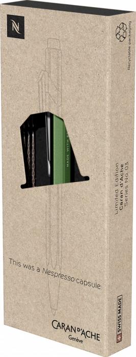Pix 849 Le Nespresso Green CT Caran d'Ache [6]