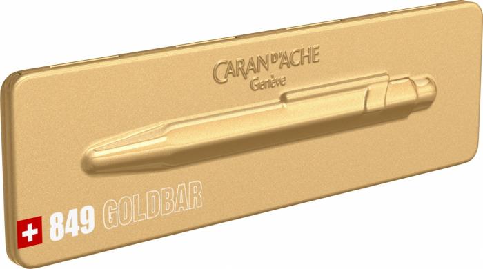 Pix Caran d'ache 849 Goldbar [7]