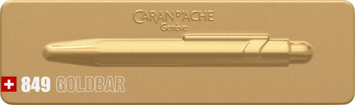 Pix Caran d'ache 849 Goldbar [9]