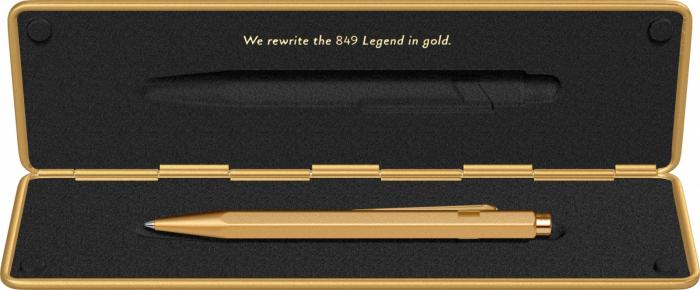 Pix Caran d'ache 849 Goldbar [5]