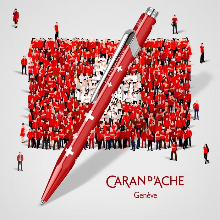 Pix Caran d'ache 849 Totally Swiss [3]