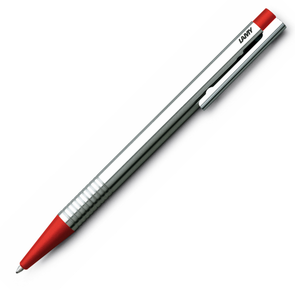 Pix LAMY Logo Stainless Steel / Red [0]