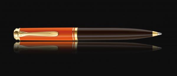 Pix Souveran K800 Burnt-Orange Pelikan 1