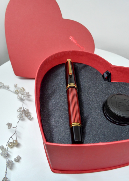 Cutie Cadou Stilou Pelikan Souveran M600 + Cerneala Pelikan 2