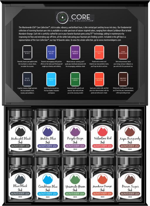 Set cadou 10 calimari Core Collection Monteverde USA [1]