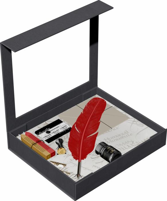 Set Caligrafie Vintage Standardgraph Manuscript [1]