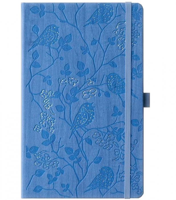 Bloc Notes Ivory Nature Bleu 13x21 cm  Herlitz 0