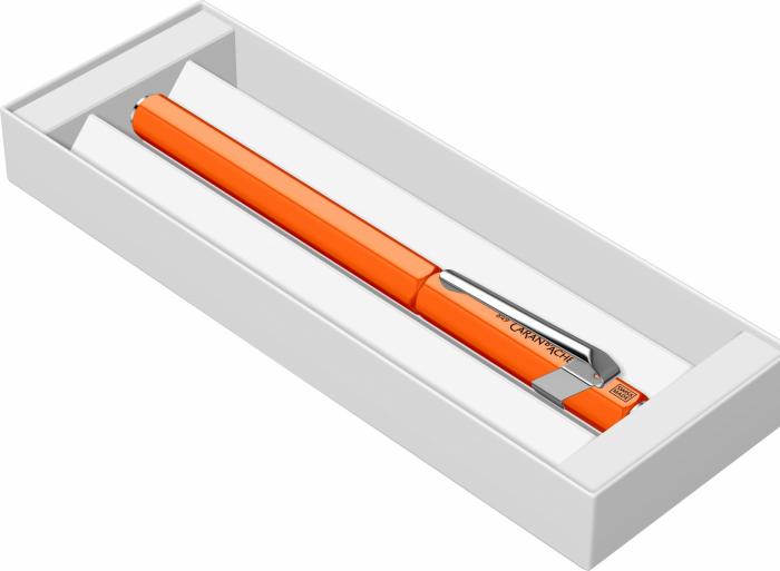 Stilou Caran d'ache 849 Fluo Line Orange CT [8]