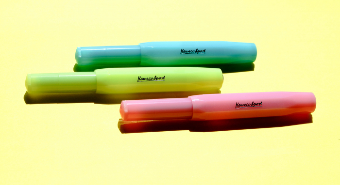 Stilou Frosted Sport Lime Kaweco [2]