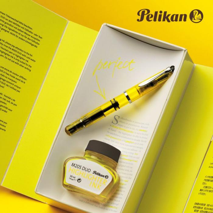 Stilou Highlighter M205 Duo Yellow Pelikan - Editie Speciala [0]