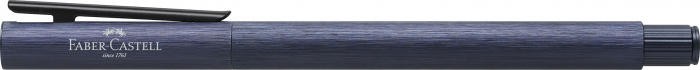 Stilou Neo Slim Aluminium Albastru Faber-Castell 3