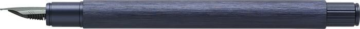 Stilou Neo Slim Aluminium Albastru Faber-Castell 2