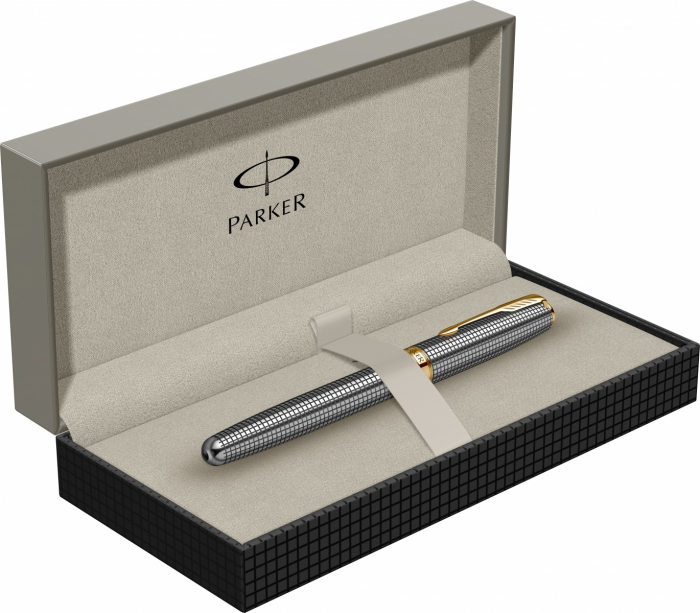 Stilou Parker Sonnet Cisele Sterling Silver GT [6]