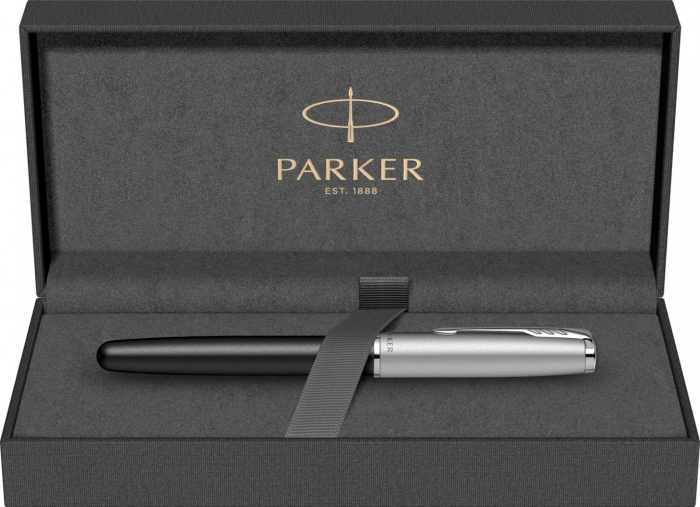 Stilou Parker Sonnet Royal Essential Black Chrome CT [7]