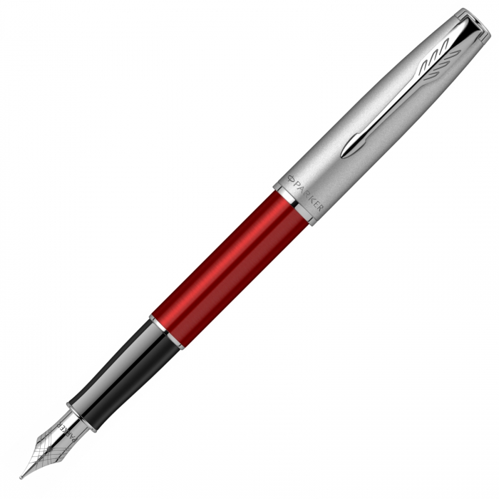 Stilou Parker Sonnet Royal Essential Red Chrome CT [0]