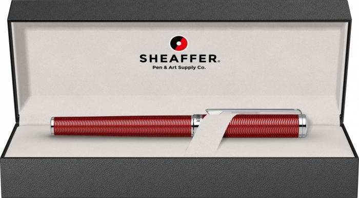 Stilou Sheaffer Intensity Engraved Translucent Red CT [5]