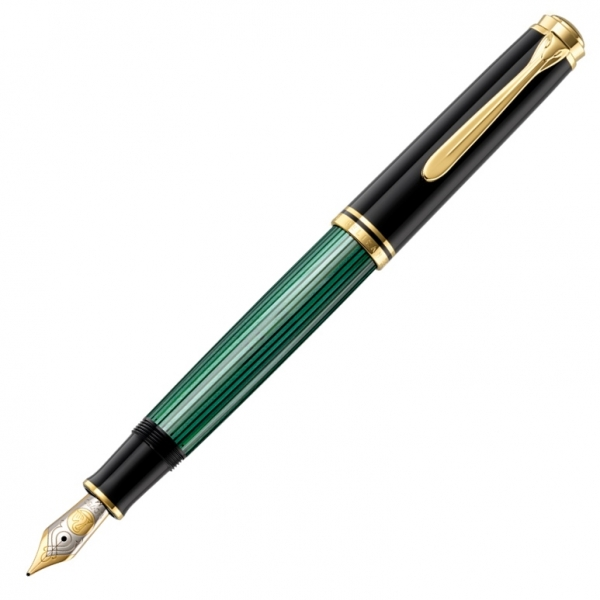 Stilou Souveran M800 Black-Green Pelikan 0