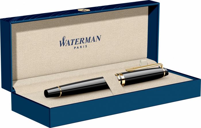 Stilou Waterman Expert Essential Black Laquer GT [7]