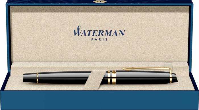 Stilou Waterman Expert Essential Black Laquer GT [1]
