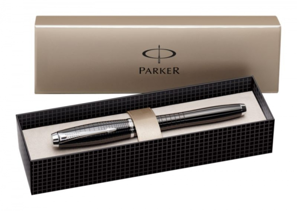 Stilou Parker Urban Premium Ebony Metal Chiselled CT 2