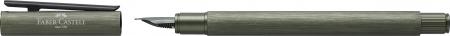 Stilou Neo Slim Aluminium Verde Faber-Castell2